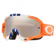 Oakley O Frame Goggles - Pinned Race Orange Blue Black Iridium