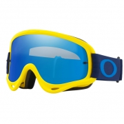Oakley O Frame Goggles - Flo Yellow Navy Black Ice Iridium