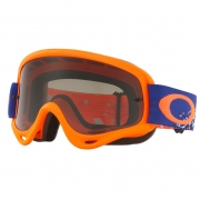 Oakley O Frame Goggles - Checked Orange Blue Dark Grey