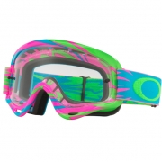 Oakley Kids XS O Frame Goggles - High Voltage Pink Blue