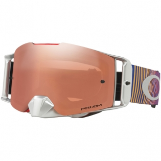 Oakley Front Line MX Goggles - Shockwave Red Blue Prizm Iridium