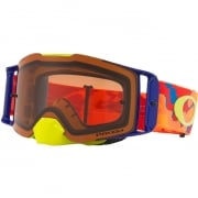 Oakley Front Line MX Goggles - Thermo Camo Orange Prizm Bronze