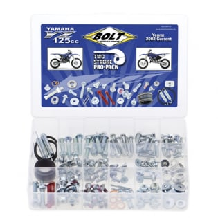 Bolt Pro Pack Bolt Kit Yamaha YZ125 2 Stroke 02-Current