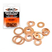 Bolt Hardware Drain Plug Copper Washer Kit - Husqvarna
