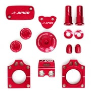 Apico Factory Anodised Bling Pack - Honda Red