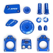 Apico Factory Anodised Bling Pack - Yamaha Blue