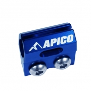 Apico Kawasaki Brake Hose Clamp - Blue