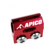 Apico Kawasaki Brake Hose Clamp - Red