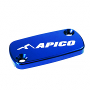 Apico Honda Front Brake Reservoir Cover - Blue