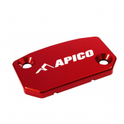Apico Husqvarna Front Brake Reservoir Cover - Red