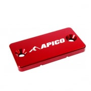 Apico Kawasaki Front Brake Reservoir Cover - Red