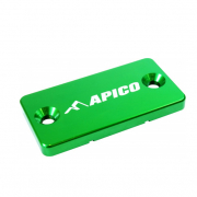 Apico Yamaha Front Brake Reservoir Cover - Green