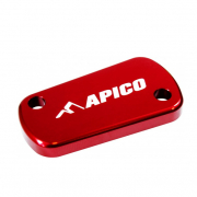 Apico Kawasaki Rear Brake Reservoir Cover - Red