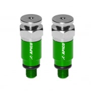 Apico Kayaba/Showa Fork Air Bleeder Screws - Green
