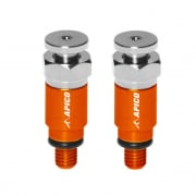 Apico Kayaba/Showa Fork Air Bleeder Screws - Orange