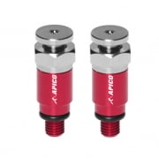 Apico Kayaba/Showa Fork Air Bleeder Screws - Red