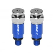 Apico WP Pro Fork Air Bleeder Screws - Blue