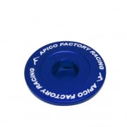 Apico Aluminium Engine Plug Set - Husqvarna Blue