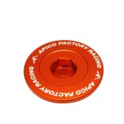 Apico Aluminium Engine Plug Set - KTM Orange