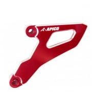 Apico Aluminium Sprocket Cover - Honda Red