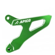 Apico Aluminium Sprocket Cover - Kawasaki Green