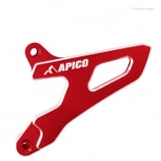 Apico Aluminium Sprocket Cover - Suzuki Red