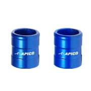 Apico Aluminium Wheel Spacers - Front Yamaha Blue