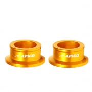 Apico Aluminium Wheel Spacers - Rear Suzuki Gold