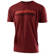 Troy Lee Designs T Shirt All Time Brick Heather