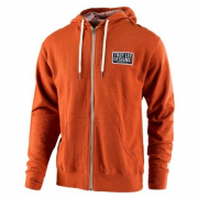 Troy Lee Designs Zip Up Hoodie Taken Burnt Orange