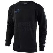 Troy Lee Designs Sweatshirt Cargo Crew Black