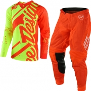 Troy Lee Designs SE Air Kit Combo - Shadow Flo Orange