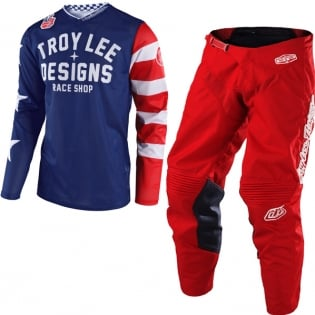 Troy Lee Designs GP Air Kit Combo - Americana Red