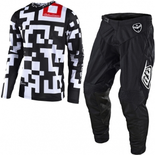 Troy Lee Designs GP Air Kit Combo - Maze Black White Black