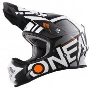 2018 ONeal 3 Series Motocross Helmet - Radium Black White