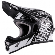 2018 ONeal 3 Series Motocross Helmet - Fuel Black White