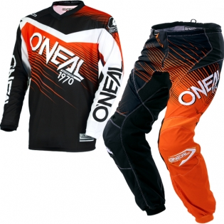 2018 ONeal Element Racewear Kit Combo - Black Orange