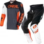 2018 ONeal Mayhem Lite Kit Combo - Split Black Orange