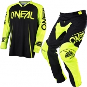 2018 ONeal Mayhem Lite Kit Combo - Blocker Black Neon Yellow