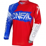 2018 ONeal Element Jersey - Burnout Red White Blue