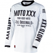 2018 ONeal Moto XXX Jersey - White Vented