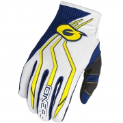 ONeal Element Motocross Gloves - Blue Yellow