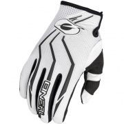 ONeal Element Motocross Gloves - White Black