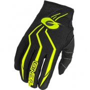 ONeal Element Motocross Gloves - Black Hi Viz