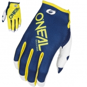 ONeal Mayhem Motocross Gloves - Two-Face Blue Yellow