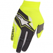 2018 Alpinestars Aviator Gloves - Flo Yellow Black