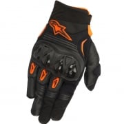 Alpinestars Megawatt Hard Knuckle Gloves - Black Anthracite Orange