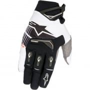 2018 Alpinestars Techstar Gloves - Black White