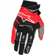 2018 Alpinestars Techstar Gloves - Black Red