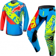 2018 Alpinestars Techstar Kit Combo - Limited Edtn Venom Union